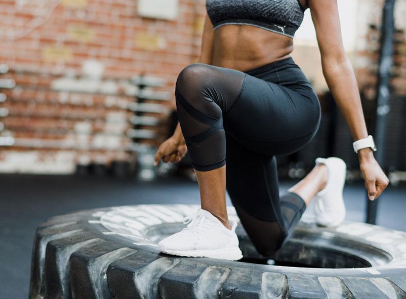 gym tire training